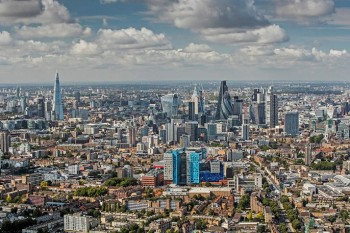 Queen Mary University of London Whitechapel Campus (Aerial View)